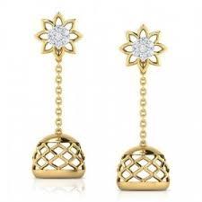 kerala style earrings jhumkas earrings calcutta jimikki kj 153 online shopping