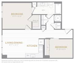 2 bedroom condo floor plans floor plans insignia on m apartments the bozzuto group bozzuto