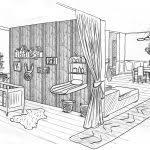dessin de chambre en 3d dessiner sa chambre en d décoration unique dessin chambre 3d