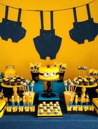 minion centerpieces minion decoration ideas drone fly tours