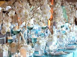 blue centerpieces blue wedding reception decorations thejeanhanger co
