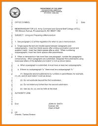 army memorandum template art resumes