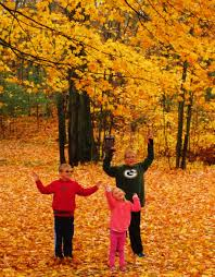 Wisconsin Fall Color Map by Vilas County Fall Color Guide Vilas County Wisconsin
