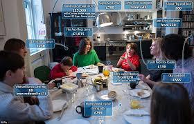 inside david cameron and wife sam u0027s kitchen at no 10 downing