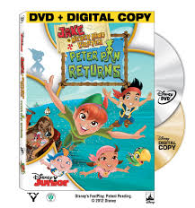jake and the neverland pirates peter pan returns dvd easter