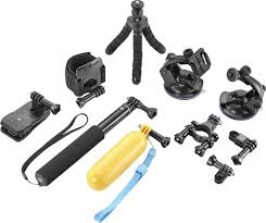 dynex ultimate accessory kit for gopro action camera black dx