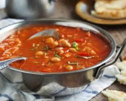 cuisiner des pois chiches recette de soupe marocaine aux pois chiches