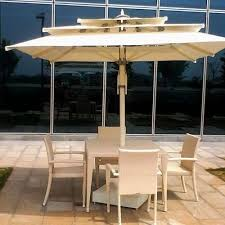 umbrella table and chairs poolside table chair set with umbrella at rs 28500 set poolside