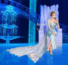 elsa costume j999 elsa costume with cl28 park version cape angel secret