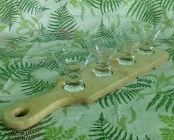 tiger maple martini flight paddle vermont butcher block tiger maple martini flight paddle