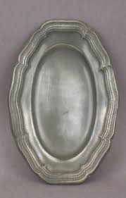 pewter platter vintage wilton columbia pewter plate set of 6 heavy by ginicrafts