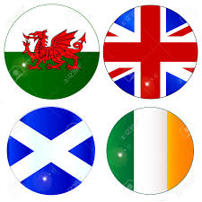 Scotland Flags The Official Flag For Scotland Wales Eire Ireland And England