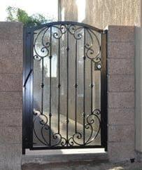 ornamental gates wrought iron near me