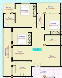 residential floor plan nasra estate company limited