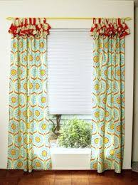 Bright Colored Curtains Winsome Inspiration Bright Colored Curtains And Cheery Ruffled