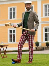 anarcho dandyist croquet player tweed country sports
