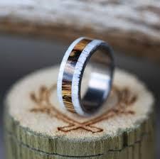 wood u0026 antler rings u2014 staghead designs