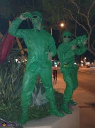 Army Men Halloween Costume Toy Story Soldiers Homemade Halloween Costume Photo 5 7