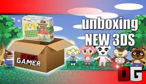 unboxing new nintendo 3ds bundle animal crossing happy home