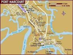 map port map of port harcourt