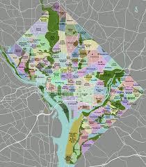 Washington Map State State Name Capital For Kid Washington Dc Neighbourhoods Map 67