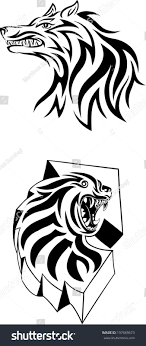tribal wolf designs images for tatouage