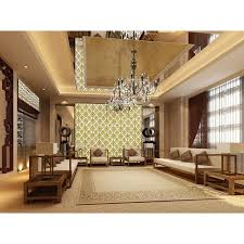 gold glass tile murals wall stickers plated crystal backsplash
