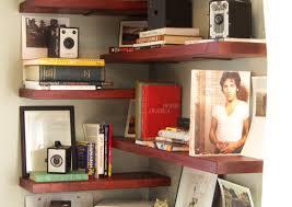 corner bookcase target shelving awesome corner shelves awesome corner shelf image of