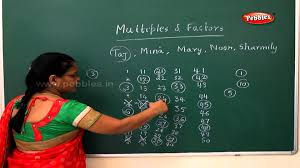 multiples and factors samacheer 5th std maths youtube