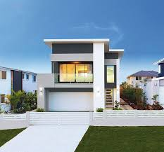 Modern Home Designs Sprawling OneStory Modern Home With - Modern home designs