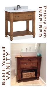 Diy Rustic Bathroom Vanity Remodelaholic Diy Bathroom Vanity How To