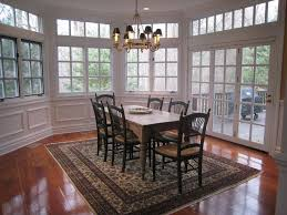 Traditional Dining Room Chandeliers Traditional Dining Room With High Ceiling U0026 Transom Window