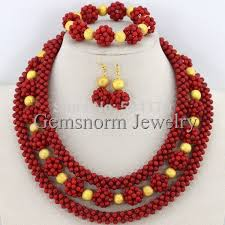 necklace beaded designs images 2017 red coral bead sets jewelry latest design nigerian beads jpg