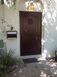 new front door for spanish style home los angeles tashman home