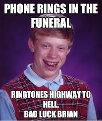 Meme Ringtones - phone rings in the funeral ringtones highway to hell bad luck