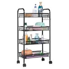 Bathroom Storage Cart Rolling Bathroom Storage Cart