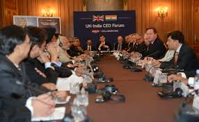 members of the round table file david cameron prime minister modi and members of the uk india
