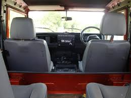 land rover puma interior land rover defender puma rear and middle seat conversion