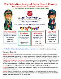 the salvation army u2013 west palm beach angel tree information the