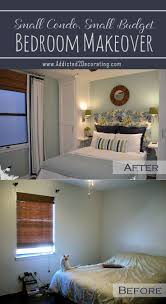 diy bedroom decorating ideas on a budget small condo budget bedroom makeover before after best decorating