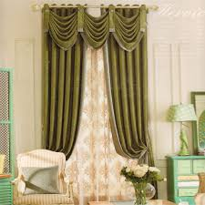 Green Colour Curtains Ideas Living Room Curtainseas Window Drapes For Rooms Marvelous Green