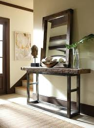 Decorating A Credenza Console Table Christmas Decorating Ideas Amazing Rustic Hall