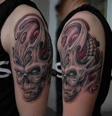 skull sleeve scorpio tattoos ideas