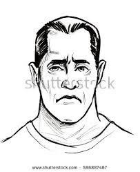 man face sketch pencil stock illustration 369513470 shutterstock