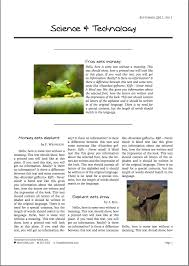 best photos of online magazine article template magazine article