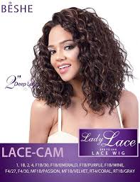 beshe 1b wine beshe lady lace 2 deep lace front synthetic wig lace cam elevate