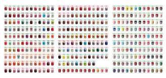 opi nail polish colors chart mailevel net
