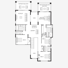 Metricon Floor Plans Single Storey by The Bahama Series Innovative Two Storey Designs