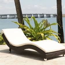 Walmart Outdoor Chaise Lounge Cushions Furniture Astonishing Varnished Wicker Outdoor Chaise Lounge With