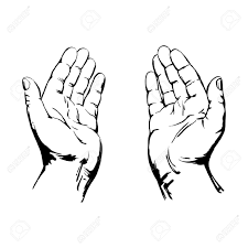 open hands clipart many interesting cliparts